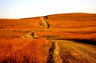 Flint Hills Road  Kansas