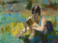 Reading in Shade